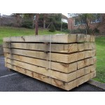 Sleepers - New Untreated Oak Railway Sleepers 200mm x 100mm x 2.4m